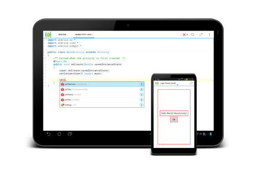 AIDE - Android IDE