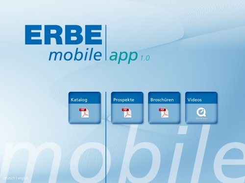 ERBE Products
