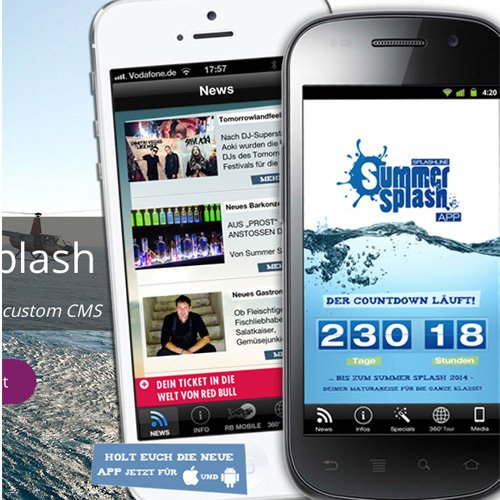 Red Bull MOBILE Summersplash App