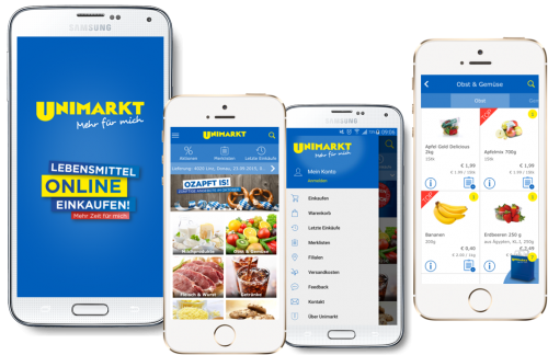 Unimarkt - mFood, Shopping