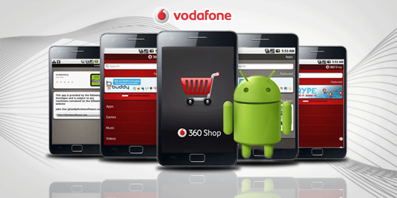 Vodafone Android Prototyping