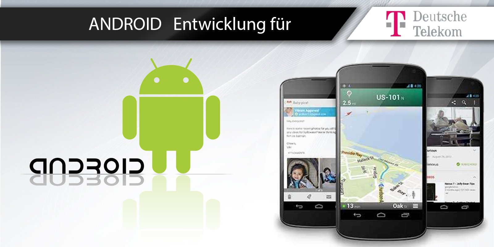 Telekom Android Entwicklung
