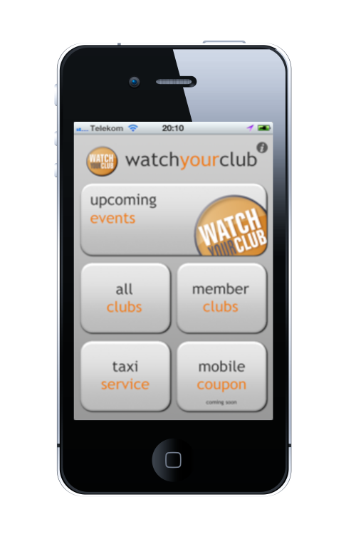 Watch Your Club App