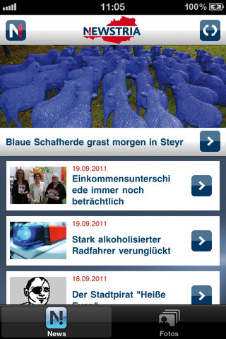 Newstria News App