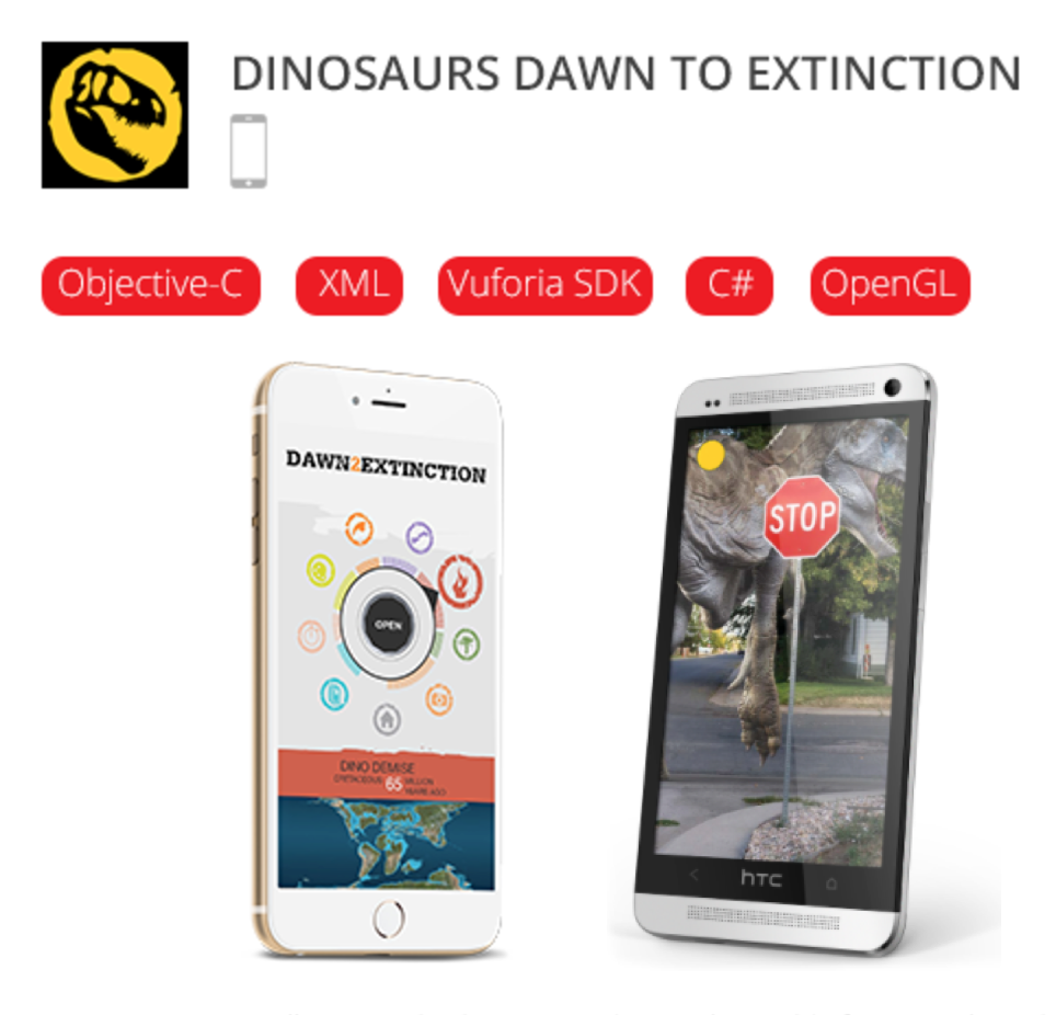 Dinosaurs Augmented Reality