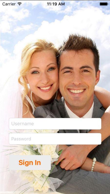 Etappen der Vermählung in die Ehe