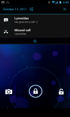 android 4.0 features lock screen aktionen