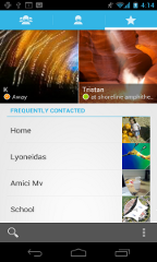 android 4.0 features kontakt favoriten
