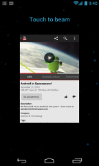 android 4.0 features anfroid beam